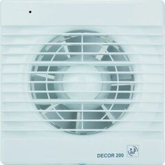 Вытяжной вентилятор Soler&Palau Decor-200 CH 5210104500