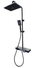 Душевая стойка с смесителем-термостатом Vema Wellness V08232F0202
