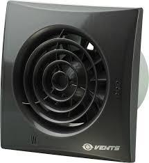 Вентилятор Вентс 100 Квайт черный бесшумный