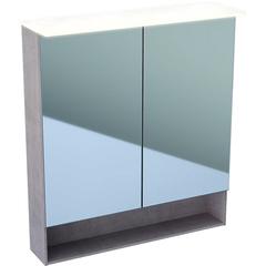 Зеркальный шкафчик с подсветкой 75 см Geberit Acanto 500.645.00.2