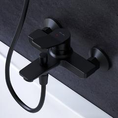 Смеситель для ванны и душа AM.PM черный X-Joy F85A10022