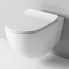 Унитаз подвесной безободковый Artceram FILE 2.0 белый с сиденьем (FLV004 01; 30+FLA014 01
