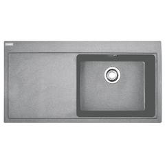 Кухонная мойка Franke Mythos MTG 611, крыло слева (114.0592.098) гранитная