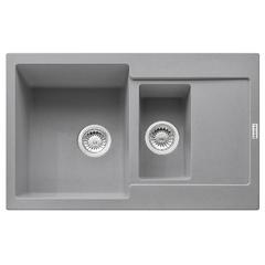 Кухонная мойка Franke Maris MRG 651-78 (114.0565.124) гранитная - врезная - оборотная - цвет Серый камень