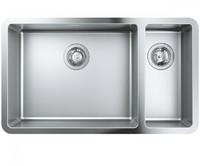 Мойка для кухни 760 x 450 мм, под столешницу, 1,5 чаши, матовая 31575SD0