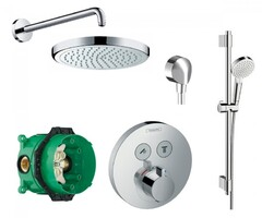 Система с термостатом HANSGROHE SHOWER SELECT S 15743111