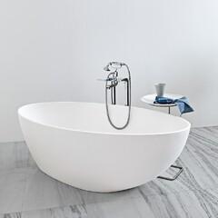Ванна отдельностоящая Zucchetti Kos Muse 170 x 85 белая