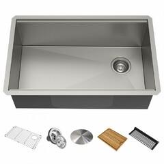 Кухонная мойка c аксессуарами Kraus Kore KWU110-30