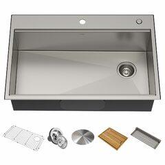 Кухонная мойка c аксессуарами Kraus Kore KWT310-33