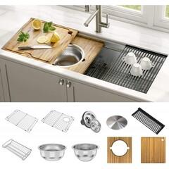 Мойка кухонная из нержавеющей стали KRAUS KWU120-45