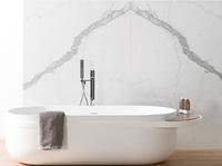 Ванная ARO KRION 195x80 · 50h с переливом белая (100170951/250041193) (100170998)