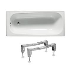 Ванна стальная с ножками ROCA CONTESA 150*70 см A236060000+A291021000