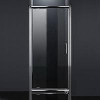 eago Дверь в нишу распашная 80*185 хром прозрачная Eger 599-150-80