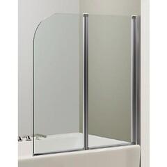 Шторка на ванну 120*138 см, цвет профиля хром Eger 599-121CH