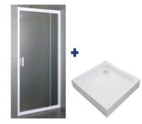 Душевая дверь с поддоном EGER 599-111+599-005-80