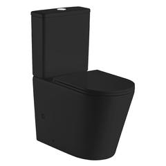 Унитаз-компакт Volle NEMO BLACK Rimless 67x38,5x84,5см напольный, матовый Slim slow-closing 13-17-377Black