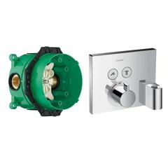 Смеситель термостат HANSGROHE SHOWER SELECT 15765000+01800180
