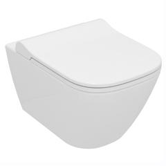 Унитаз подвесной Volle SOLO Rimless сиденье Slim slow-closing 51*35,5*33 см (13-55-111)