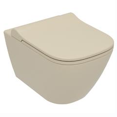 Унитаз подвесной Volle Solo капучино матовый 13-55-111Capp с сиденьем Soft Close