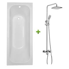 Ванна Volle Altea TS-1770448 + душевая система VOLLE ALTEA SET20210207