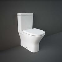 Унитаз напольный RAK Ceramics Resort 60 см, безободковый, без крышки, белый RST17AWHA