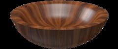 Деревянная ванна Alegna Laguna Redondo Ø 200 см Nussbaum матовая