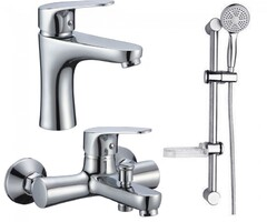 Смесители для ванной комнаты ROZZY JENORI BUTTERFLY Набор (RBZ074-1-3-0511)