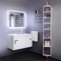 fancy marble Пенал для ванной модель SCMR