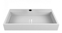 Умывальник Miraggio Mares 800 (Цвет - белый глянцевый)