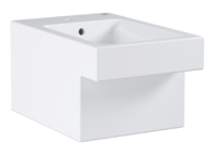 Биде подвесное, альпин-белый Grohe Cube Ceramic (3948600H)