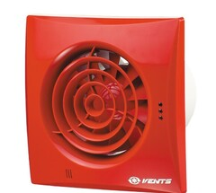 Бесшумный вентилятор VENTS 150 Квайт красный