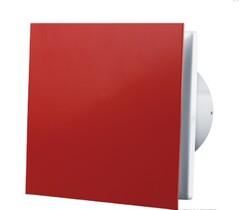 Бесшумный вентилятор VENTS 100 Солид красный