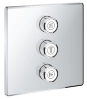 Комплект смесителей для ванны верхней монтажной части для вентиля на три выхода Grohe Grohtherm SmartControl (29127000)