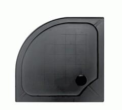 Душевой поддон (композит) 90*90 ASIGNATURA черный матовый Velvet 19837002