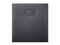 Поддон акриловый черный мат композит Asignatura Tinto 49837002