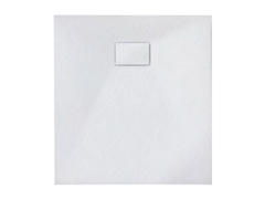 Душевой поддон Tinto (композит) 90*90 белый матовый 49837004 ASIGNATURA