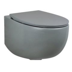 Унитаз подвесной AET DOT 2.0 S555TOROV6116+C555R116 с сиденьем