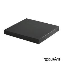 Крышка для унитаза Soft Close Duravit Vero, черная (0067690800)