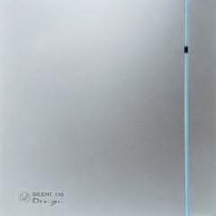 Вытяжной вентилятор Soler&Palau Silent-100 CHZ Silver Design-3C 5210603600